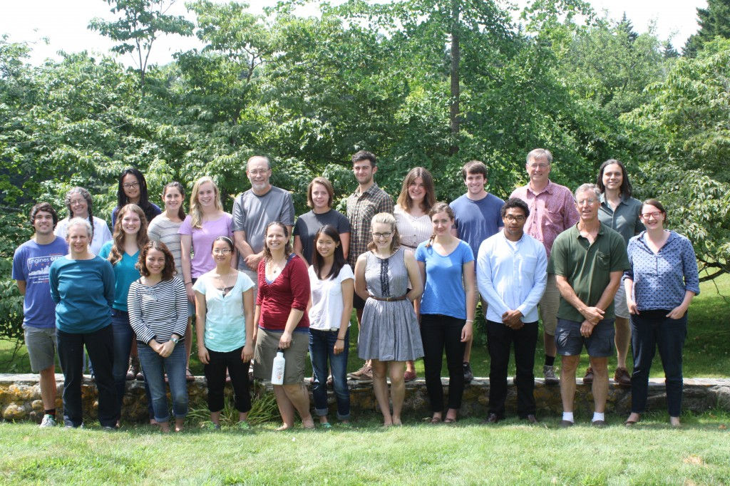 The 2014 Coastal Studies Fellows and Faculty Members
