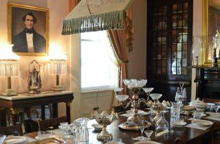 Rosedown-Plantation-Dining-Room