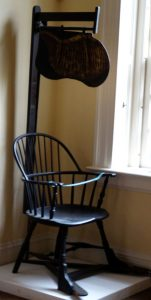 Fan Chair, New Haven Historical Society