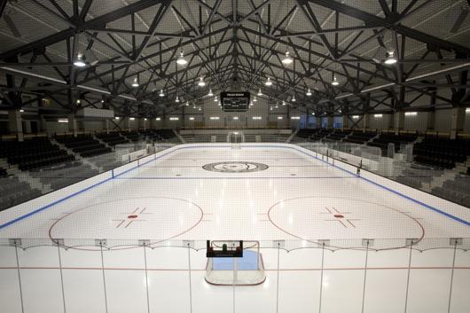 Interior of Watson Arena
