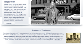 Forty Years: The History of Women at Bowdoin