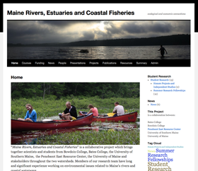Maine Rivers, Estuaries and Coastal Fisheries - ecological and economic connections