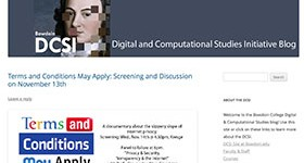 Digital and Computational Studies Blog