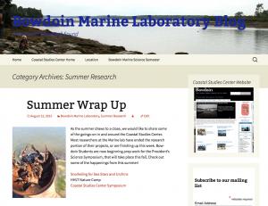 Bowdoin Marine Laboratory